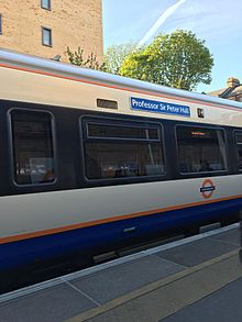 The Professor Sir Peter Hall Overground train