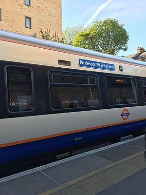 Peter Hall (urbanist) - The Professor Sir Peter Hall Overground train