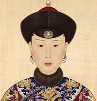 The Qing Dynasty Consort Yehonara.JPG