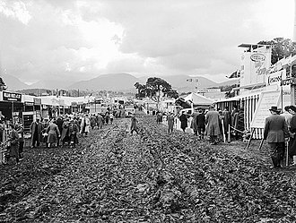 Royal Welsh Show - Image: The Royal Welsh Agricultural Show at Bangor 1958 (7636807478)