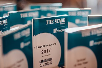 The Stage Awards - The Stage Awards 2017 trophy. Photo credit: David Monteith-Hodge