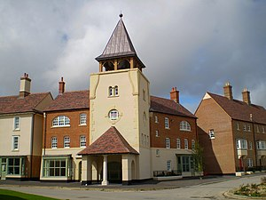 Poundbury - Image: The Whistling Witch, Poundbury