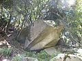 The bird of the megalith left behind only the wing. The stone of the wreckage remains in the side. - panoramio.jpg