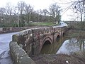 The bridge at Aldford, Cheshire - geograph.org.uk - 1610176.jpg