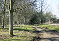 The end of Southbrook Lane - geograph.org.uk - 1740074.jpg