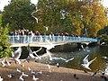 The footbridge across St James's Park Lake - geograph.org.uk - 1568786.jpg