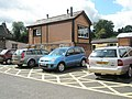 The signal box as seen from Bridgnorth Station Car Park - geograph.org.uk - 1454235.jpg