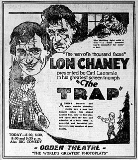 <i>The Trap</i> (1922 film) 1922 American silent directed by Robert Thornby