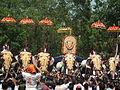 Thiruvambadi varav during Thrissur Pooram 2013 7309.JPG