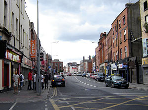 Thomas Street, Dublin - Thomas St., from the corner of Meath St. looking towards James St.