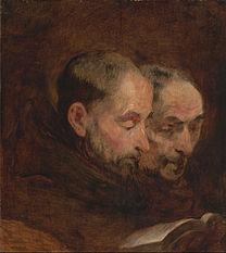 GAINSBOROUGH Thomas Two monks reading c. 1767