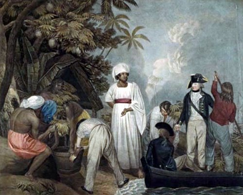 Thomas Gosse, Transplanting of the bread-fruit trees from Otaheite, 1796, UMKC