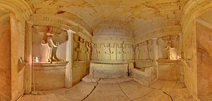 Getae - The Thracian Tomb of Sveshtari, 3rd century BC