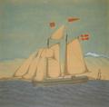 Thor P. Clausen - Skonnerten Nestved af Rønne - 1880.png