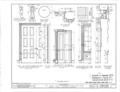 Thornhill Plantation, County Road 19, Forkland, Greene County, AL HABS ALA,32-WATSO,1- (sheet 9 of 16).png