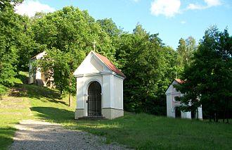 Stations of the Cross - Three chapels of Verkiai Calvary