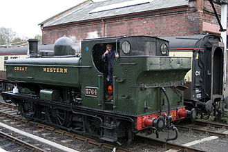 1929 in rail transport - Early GWR 5700 Class locomotive