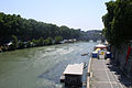 Tiber from Ponte Umberto I (Rome).jpg