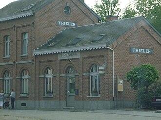 Tielen - Railway Station Tielen(street side)