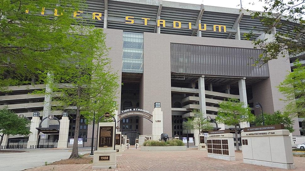 Tiger Stadium (LSU) Champions Plaza