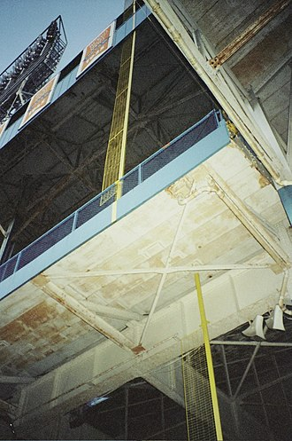 Tiger Stadium (Detroit) - A look under the famous overhang.