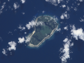 Photo de l'île (NASA, 2001).