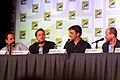 Tim Minear, Alan Tudyk, Nathan Fillion & Joss Whedon (7594511100).jpg