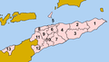Timor-Leste municipalities numbered 2015.png