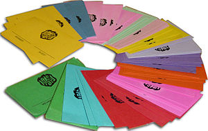 Tiger Inn - An assortment of Tiger Inn colored eating club guest passes