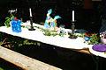 Tisch-Dekoration mit Blau-Tönen.jpg