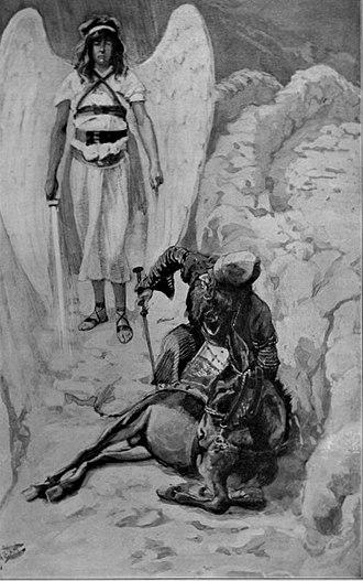 Balak (parsha) - Balaam and the Ass (watercolor circa 1896–1902 by James Tissot)