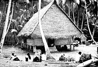 Hatohobei - A bai on Tobi Island, 1971