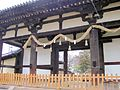 Todai-ji Tegai-mon National Treasure 国宝東大寺転害門06.JPG
