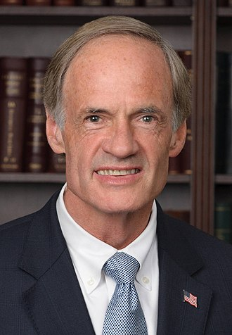 2018 United States Senate elections - Image: Tom Carper, official portrait, 112th Congress (cropped)