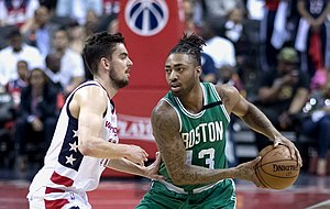 James Young (basketball) - Young with the Celtics in May 2017