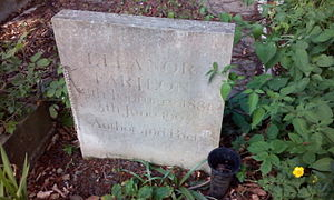 Eleanor Farjeon - Farjeon's grave, St John at Hampstead, London.