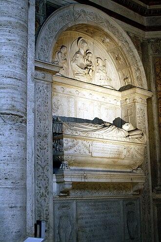 Cristoforo della Rovere - Tomb of Cristoforo and his brother Domenico in Santa Maria del Popolo, Rome