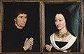 Tommaso di Folco Portinari (1428–1501); Maria Portinari (Maria Maddalena Baroncelli, born 1456) MET DT28 DT29.jpg