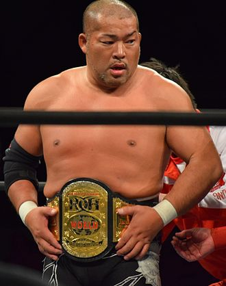 Tomohiro Ishii - Ishii as the ROH World Television Champion