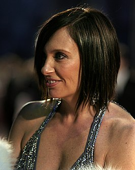 Toni Collette tijdens de Orange British Academy Film Awards, februari 2007.