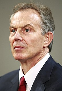 Tony Blair Prime Minister of the United Kingdom from 1997 to 2007
