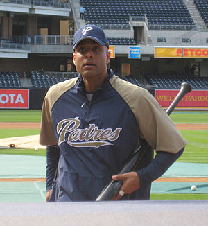 Tony Clark - Clark with the San Diego Padres in 2008