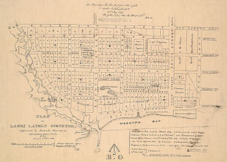 "Niagara, Toronto - Plans for the ""New Town extension"" were drafted shortly after York was reincorporated as Toronto, in 1837."