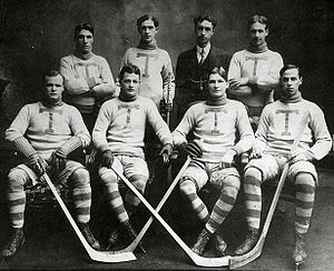 Charlie Liffiton - Charlie Liffiton, second from left in the front row, with the Toronto Professionals in the 1906–07 season.