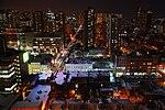 Toronto at night looking east.JPG