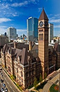 Old City Hall (Toronto) building in Toronto