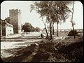 Tour et remparts, arbres, aqueduc à l'arrière-plan - Marie-Joseph Henry de Lestrange (1897).jpg