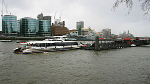Tower Millennium Pier - Image: Tower Millennium Pier 3