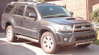 Running board - Toyota 4Runner with running board