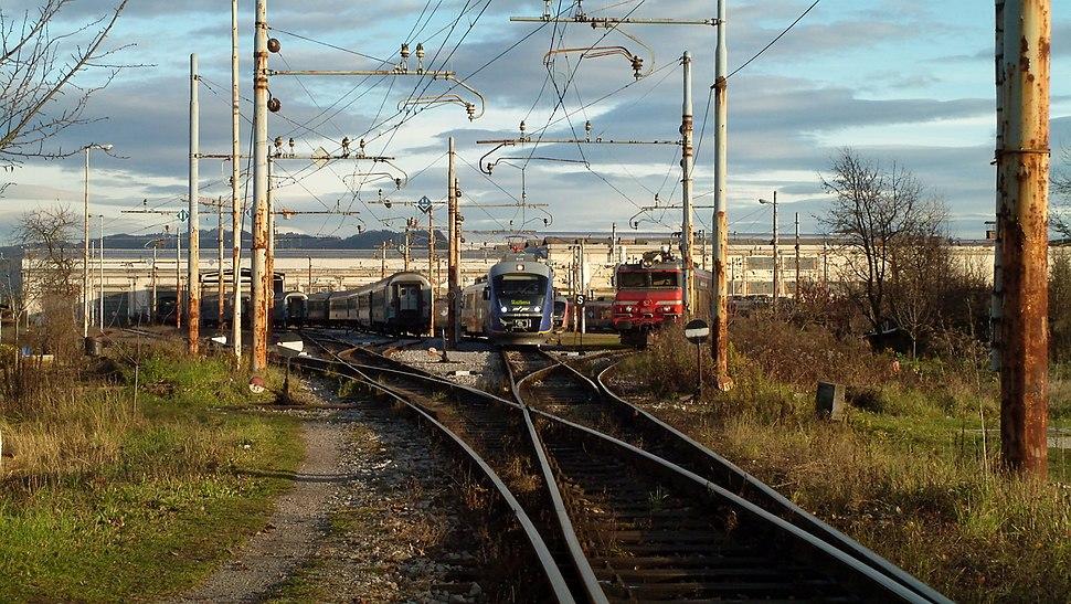 Trains pic by Praktica